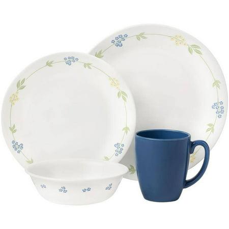 Corelle Livingware Secret Garden 16 Piece Dinnerware Set