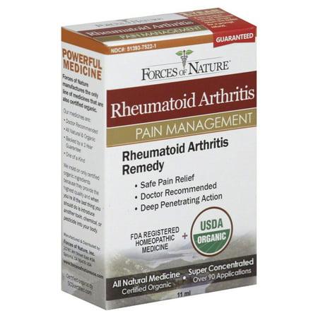 Forces Of Nature Rheumatoid Arthritis Pain Management Drops  0 37 Oz