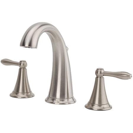 Prime Fontaine Montbeliard Brushed Nickel Widespread Bathroom Faucet Interior Design Ideas Gresisoteloinfo