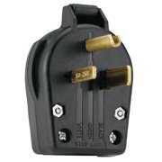 Cooper Wiring Devices 309-S42-SP Angle Grounding Plug