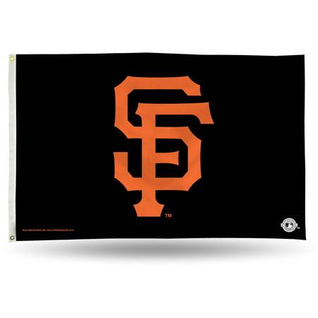 Rico Industries MLB 3' x 5' Banner Flag, San Francisco Giants