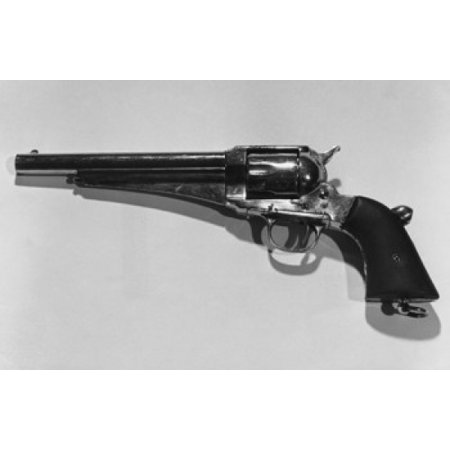 Close-up of a Remington Army Revolver Canvas Art -  (18 x 24) (Army Revolver)