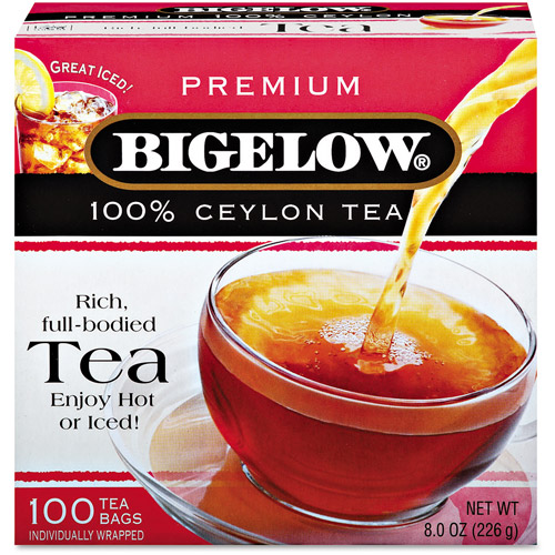 Bigelow 100% Premium Ceylon Tea Bags, 100 count