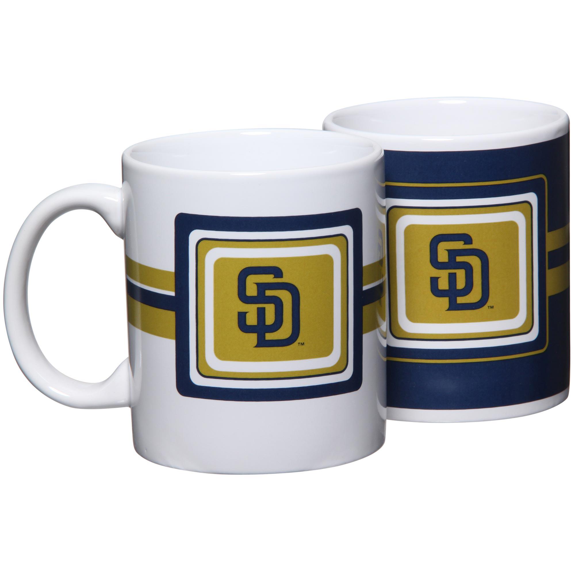 San Diego Padres 11oz. Two-Pack Mug Set - No Size