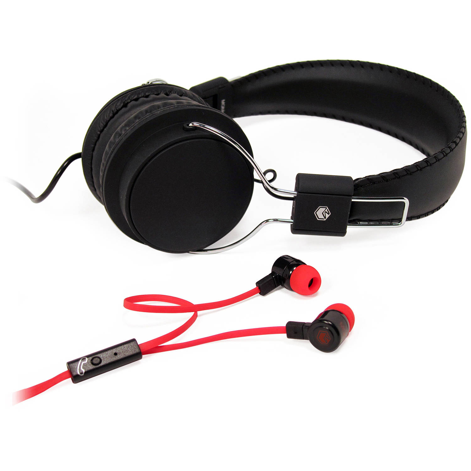 Zip Up Headphones Over Ear And On Ear Headphones Walmartcom