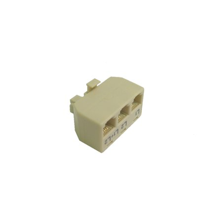 0-539 3 way t adapter ivory (3 Way Electronic)