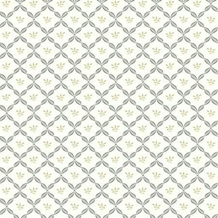 Black White Ribbon Harlequin Wallpaper