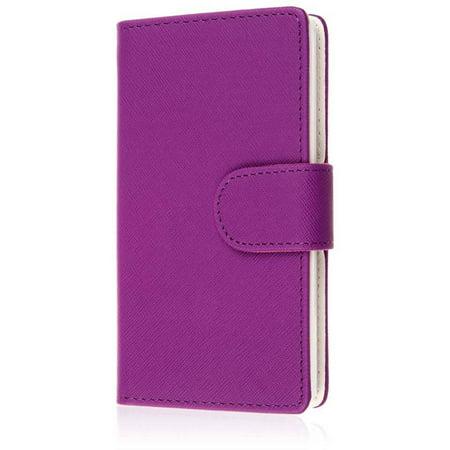 Sharp Series Leather - Flex Flip Wallet Case for Sharp Aquos Crystal 306SH