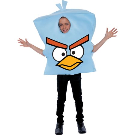 Morris Costume Kids Unisex Angry Bird Space Ice Child Costume One Size, Style PM887169 - Angry Birds Costumes For Kids