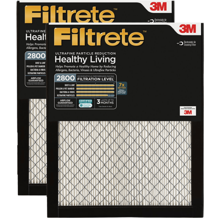 3m Filtrete 2800 Mpr Ultrafine Particle Reduction Filters