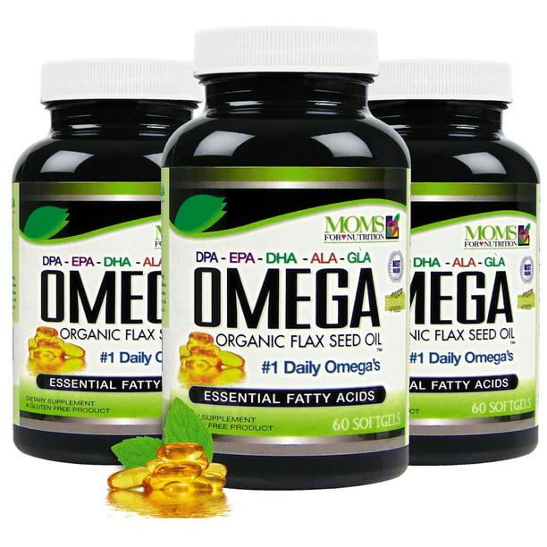 Pack Of 3 Omega 3 6 9 Blend With Dpa Epa Dha Ala And Gla And