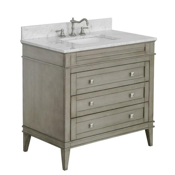 Eleanor 36 Bathroom Vanity Walmart Com Walmart Com
