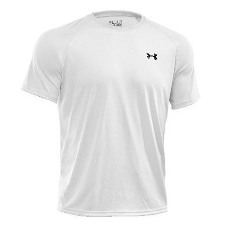 Under Armour 1228539 Men's White Tech Short Sleeve T-Shirt - Size (Under Armour Tech Tee)