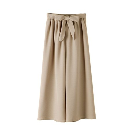 New High Waist Wide Leg Pants Female Casual Straight Pants Thick Section (Female Section)