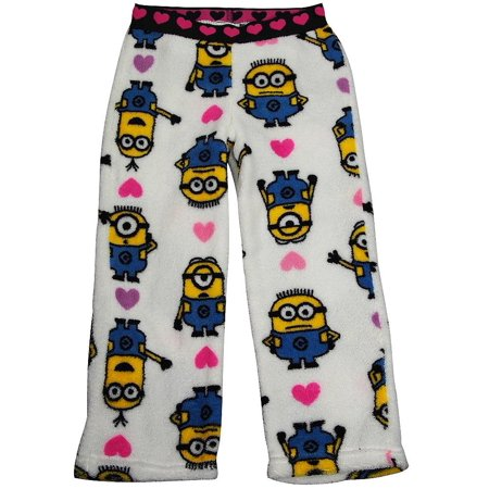 Little Girl From Despicable Me (Despicable Me - Little Girls Microfleece Lounge Pant MULTICOLOURED /)