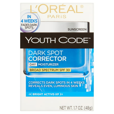 L'Oreal Paris Youth Code Dark Spot Corrector SPF 30 Cream, 1.7 (Prescription Cream To Remove Dark Spots On Face)