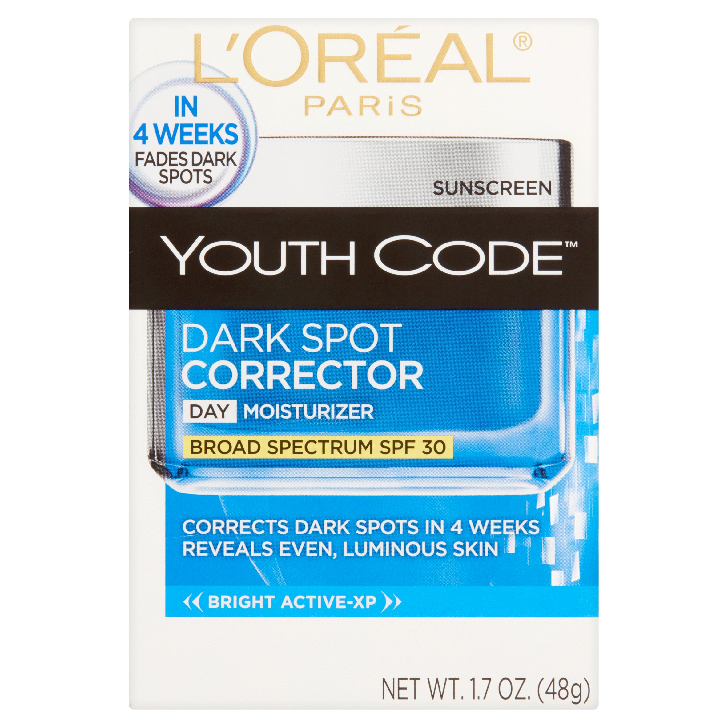 L'Oreal Paris Youth Code Day Cream Moisturizer, 1.6 OZ