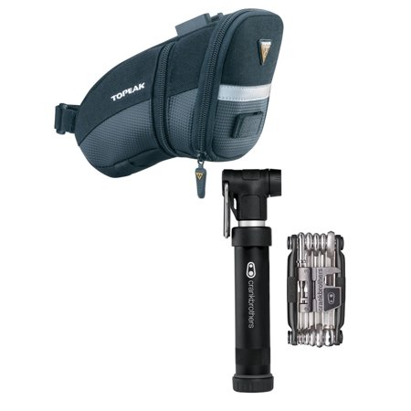 Topeak Seat Pack (Topeak Seat Pack with Gem S Compact Pump and M17 Bike Multi-Tool )