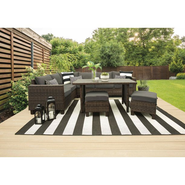 Better Homes Gardens Brookbury 5, Smart Living 6 Piece Patio Set