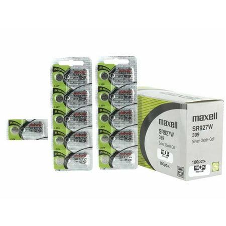 Maxell MAXELL-399 60mAh 1.55V SR927W Silver Oxide Button Cell Battery - image 1 de 1