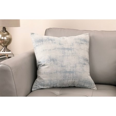 - Coban Contemporary Decorative Feather and Down Throw Pillow In Sea Foam Jacquard Fabric