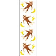 Mrs. Grossman's Stickers-Sock Monkeys