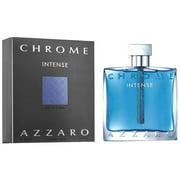 Chrome Azzaro Intense Eau De Toilette 3.4 oz / 100 ml  New
