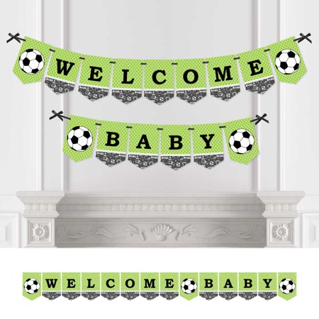 GOAAAL! - Soccer - Baby Shower Bunting Banner - Sports Party Decorations - Welcome - Soccer Banners