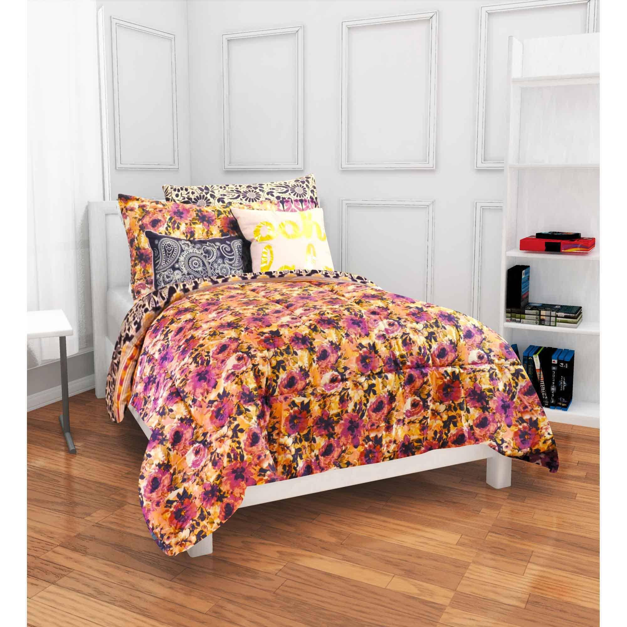 Formula Anna Boho Bed in a Bag Bedding Set, Twin