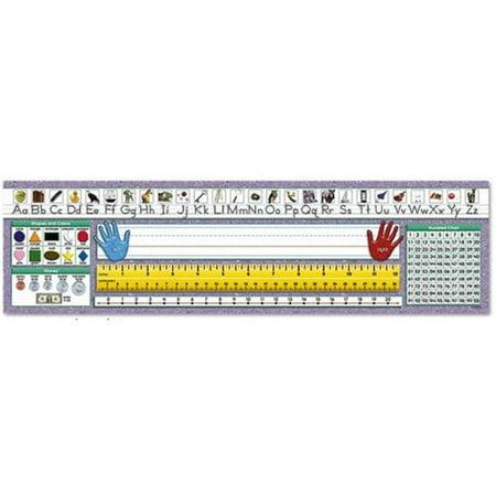 North Star Teacher Resource Nst9003 Desk Plate Pri Trad Man - image 1 of 1
