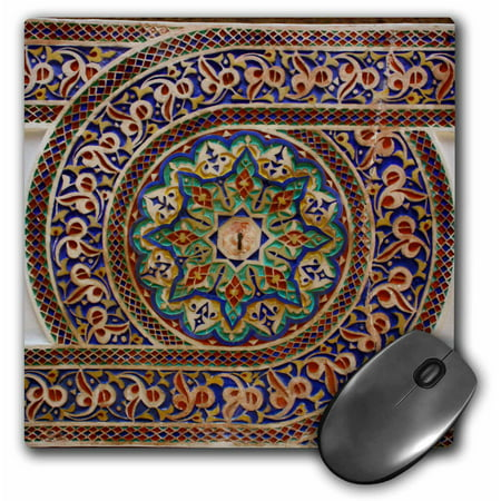 3drose photo of mosaic wall dcor marrakesh morocco photo by rhonda albom mouse pad 8 by 8. Black Bedroom Furniture Sets. Home Design Ideas