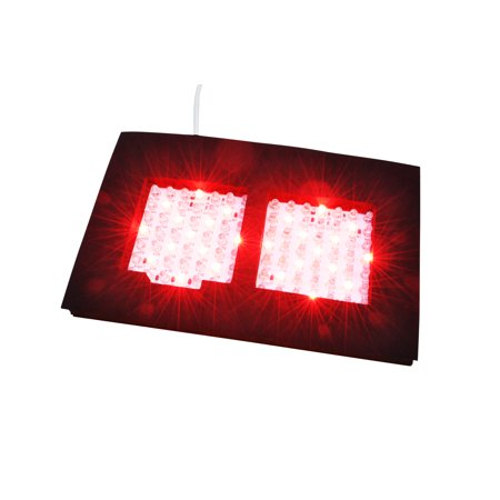 Infrared LED Therapy Dual Light, Dual NIR Infrared and Red Light Output Therapy Pad, Deep Penetration for Pain Relief, Safe, Effective, Easy, Aids Healing, Circulation, Chronic Pain, and