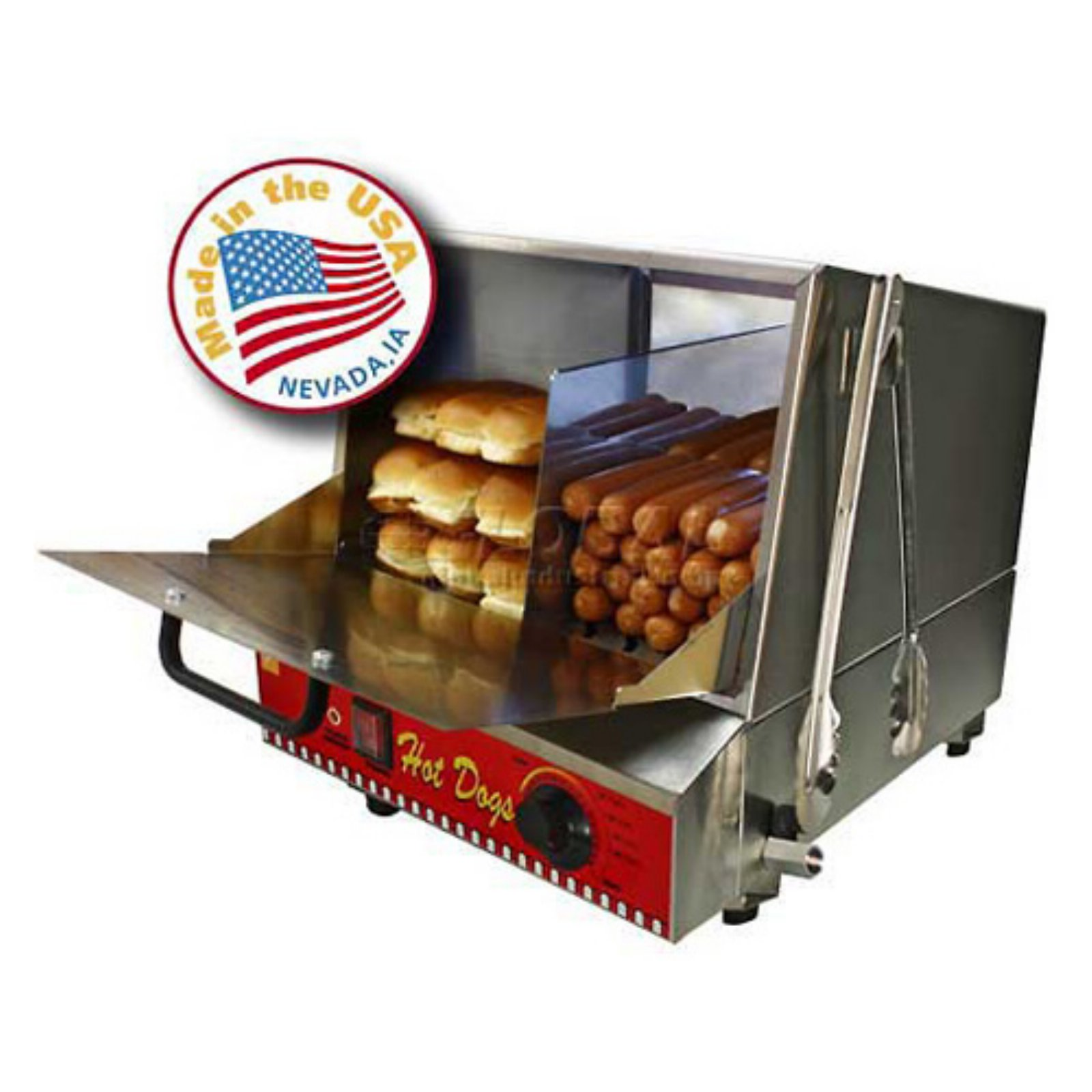 Paragon Classic Hot Dog Steamer