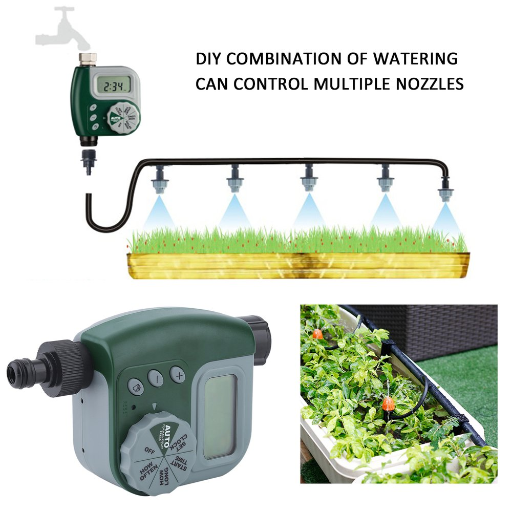 Single Outlet Irrigation Controller Automatic Flower Watering Water Timer