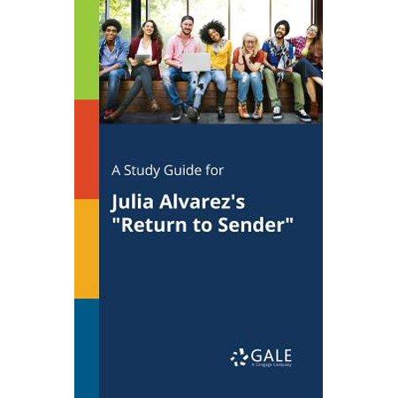 A Study Guide for Julia Alvarez's Return to