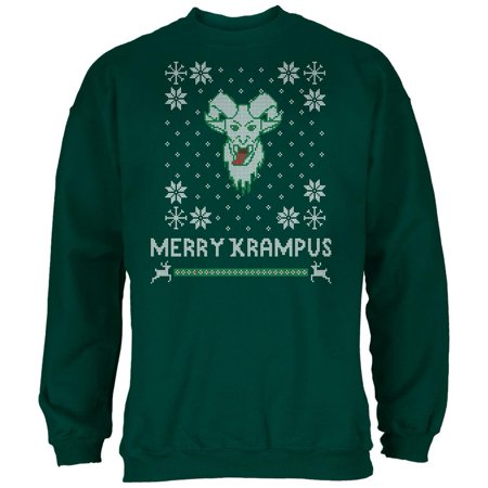 Christmas Merry Krampus Ugly Xmas Sweater Forest Adult Sweatshirt