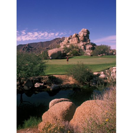 The Boulders Golf Course, Scottsdale, Arizona Print Wall Art By Bill (Best Golf Courses In Arizona)