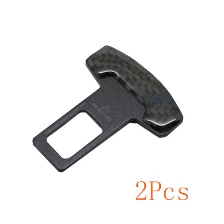 2pcs Universal Vehicle Mounted Car Safety Seat Belt Buckle Clip