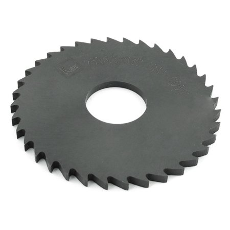 Hss Replacement Blade - HSS 36 Peg Teeth 75mm x 3.5mm x 22mm Black Slitting Saw  Replacement