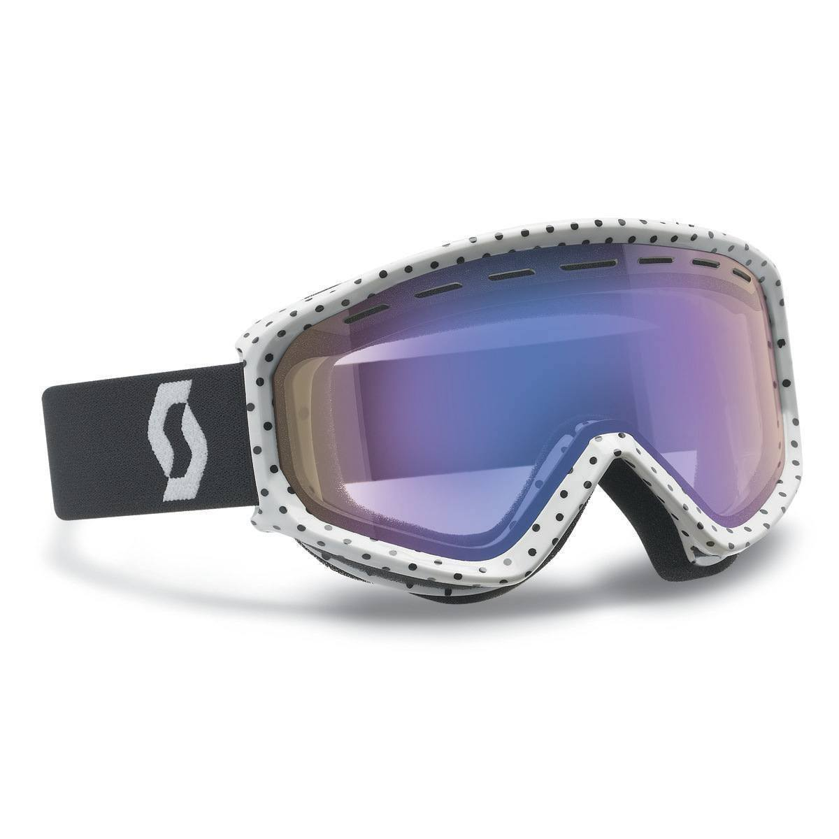 Scott Fact Ski Goggles Rose Violet, Natural Lens by Scott Sports