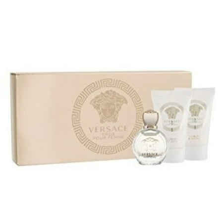 ($25 Value) Versace Eros Perfume Gift Set For Women, 3 Pieces
