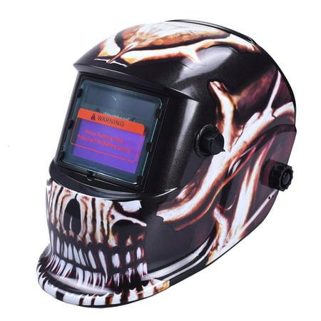 iMeshbean PP Material Solar Auto Darkening Welding Helmet MIG TIG ARC Professional Mask,Grey