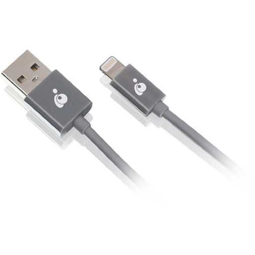IOGEAR Charge and Sync USB to Lightning Cable, 6.5'