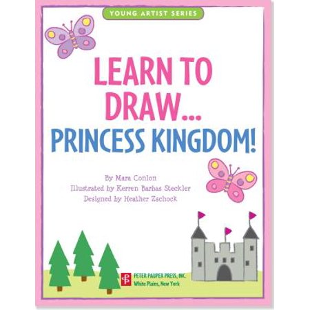 Learn to Draw Princess Kingdom! : Easy Step-By-Step Drawing Guide](Easy Stuff To Draw For Halloween)