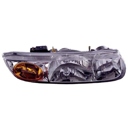 Go-Parts » 2000 - 2002 Saturn SL1 Front Headlight Headlamp Assembly Front Housing / Lens / Cover - Right (Passenger) Side - (Sedan) 21112456 GM2503206 Replacement For Saturn SL1