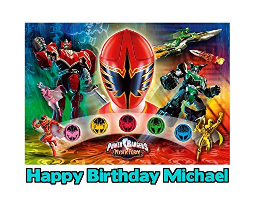 For Power rangers mystic force