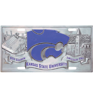 Kansas State Collector's License Plate