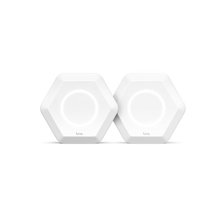 Luma Home WiFi System (White 2 Pack) - Replaces WiFi Extenders and Routers, Simultaneous Dual Band 2.4/5GHz, Parental Controls/Security, Gigabit Speed, WPA/WPA2 Encryption