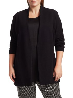 Plus Grace Cotton-Blend Jacket