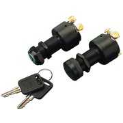 Sea-Dog 420365-1 Three Position Ignition Switch, Poly 3 Position - Off-Ignition-Start